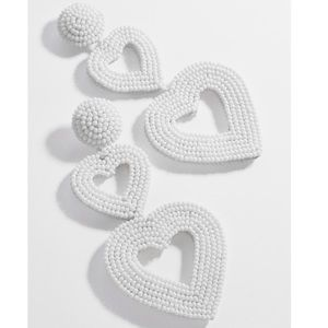 BaubleBar Vierra Heart Drop Earrings